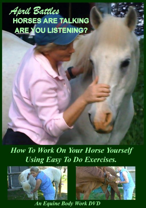 """DVD April's """"The Horses Are Talking – Are You Listening?"""""""
