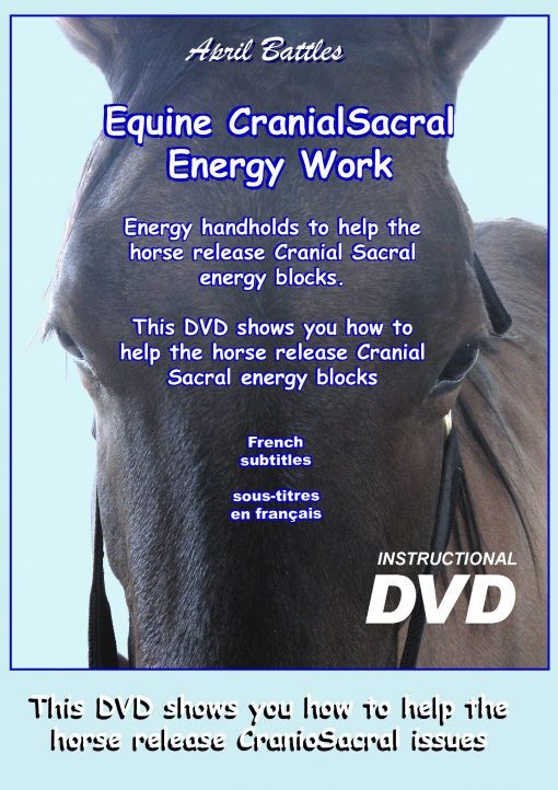 "DVD ""Equine Cranial Sacral Energy Work"" (formerly ""Horses With Headaches"") (French Subtitles)"