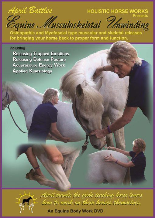 "Level 1 - ""Equine Musculoskeletal Unwinding"" Home Study Program DVD & Workbook"